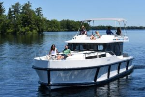 bateau fleuve Gilles auto ecole